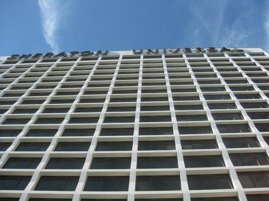 Sheraton Universal Hotel:                   View