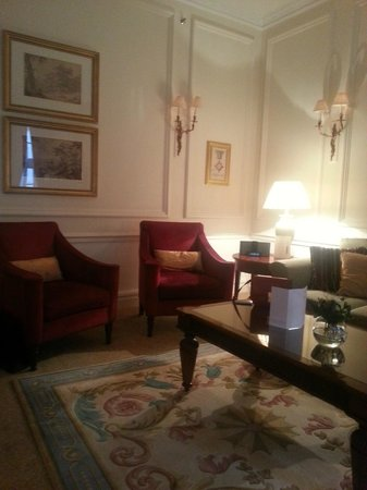 Grand Residences by Marriott - Mayfair-London : Sitting room