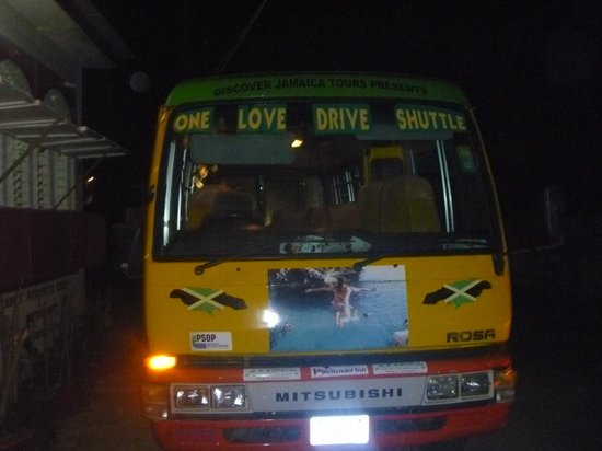 One Love Bus Bar Crawl: Our love shuttle