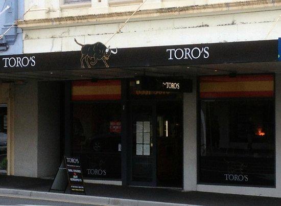 Enterance to Toro's