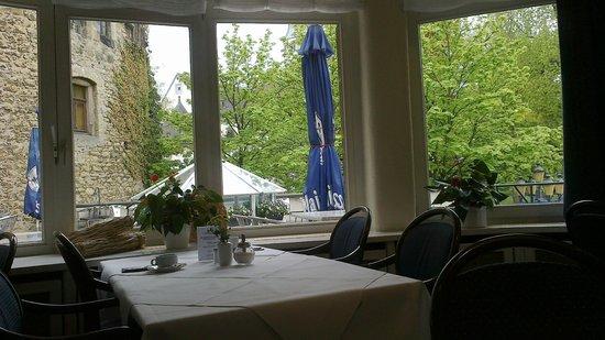 Hotel DER ACHTERMANN:                   Breakfast view