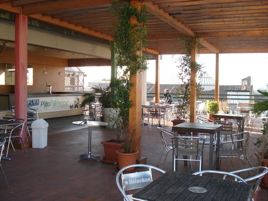 Plus Florence: The terrace