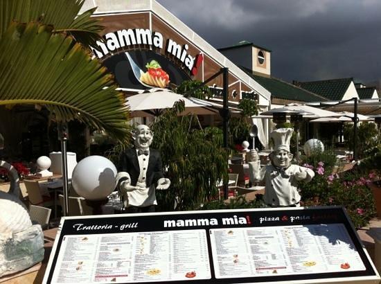 Restaurante Mamma Mia! :                   hermoso