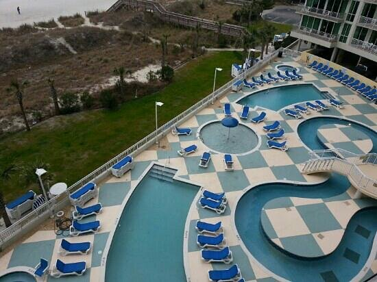 Avista Resort:                   outdoor pools