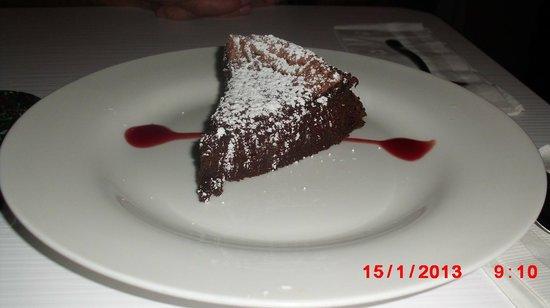 Parrilleria Vacas Gauchas :                   Flourless Chocolate Cake