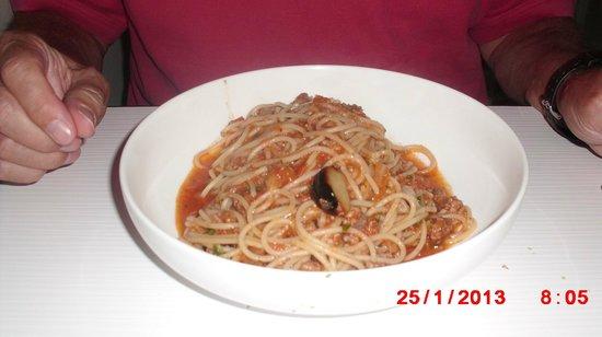 Parrilleria Vacas Gauchas:                   Spaghetti Bolonesa