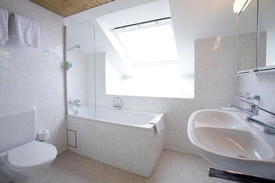 Hotel Rochat: Bathroom