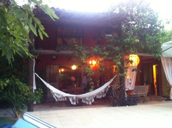 Mata N'ativa Pousada:                   hammock by the pool