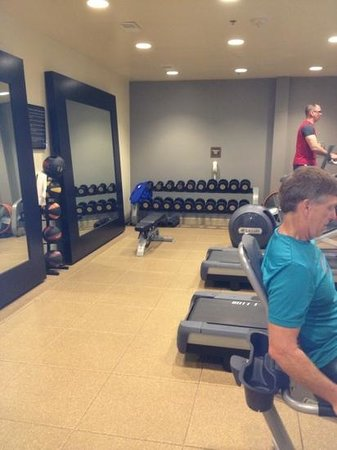 Doubletree by Hilton Hotel Denver - Thornton:                   small-ish fitness room