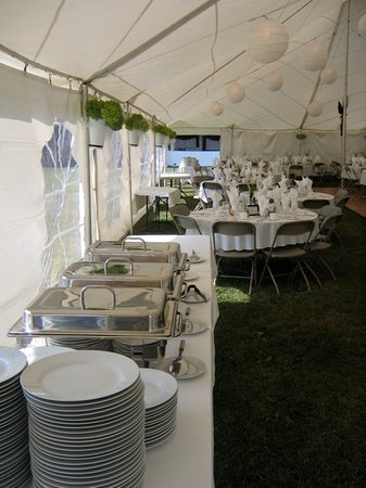 The Abbey Inn: Wedding Buffet Station