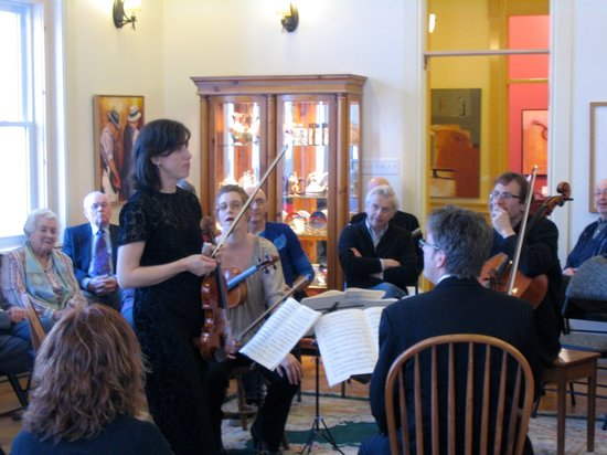 """The Abbey Inn: Tapestry Concert - Beethoven String Quartets """"in the round!"""""""