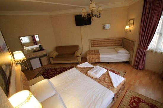 Tashkonak Hotel: Triple room