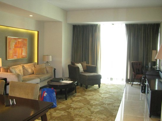 Joy Nostalg Manila Managed by AccorHotels: living area for the 2 bedroom suite