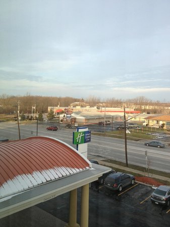 Holiday Inn Express & Suites Niagara Falls:                                     Another view from room.