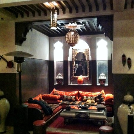 Riad La Porte Rouge:                   The Sitting Area