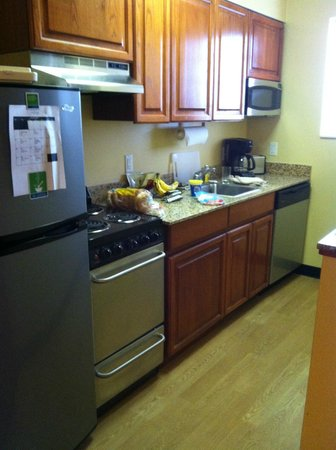 TownePlace Suites Bryan College Station:                   Great kitchen setup