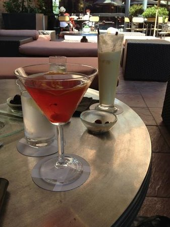 Hyatt Regency Johannesburg: Saturday afternoon Sundowners :)