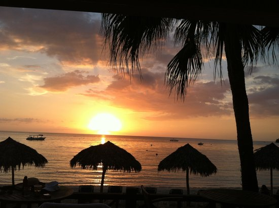Sandals Negril Beach Resort & Spa:                   Beautiful sunsets from the resort!