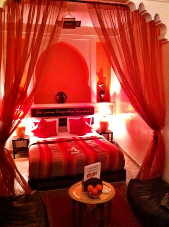 Riad La Porte Rouge:                   Room