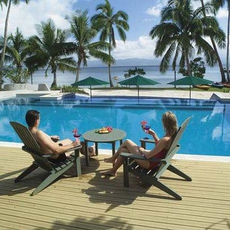 Jean-Michel Cousteau Resort: Pool View