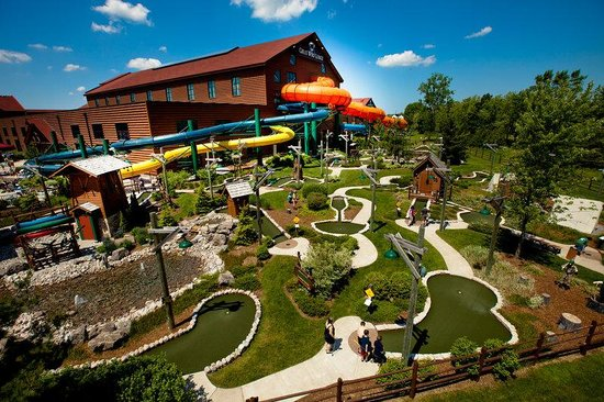 Great Wolf Lodge: Wacky Wilderness Mini Golf Course