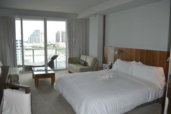 W Fort Lauderdale:                   Our room