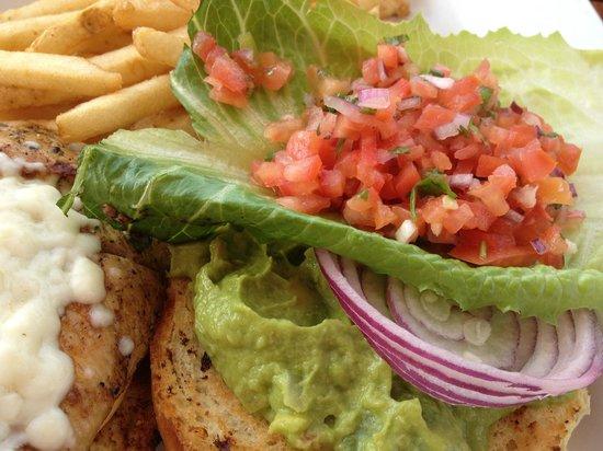 Pelican Landing Restaurant: Jerk Spice Chicken Sandwich