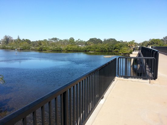Sleep Inn Sarasota:                   Legacy bike trail over Roberts Bay