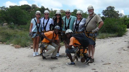 Magaliesberg Canopy Tour: Before the off