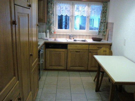 Chalet Aeschhorn: Kitchen