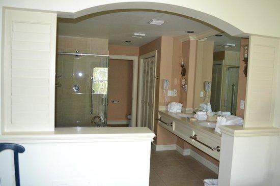 Hyatt Residence Club Key West, Beach House:                   The master bathroom