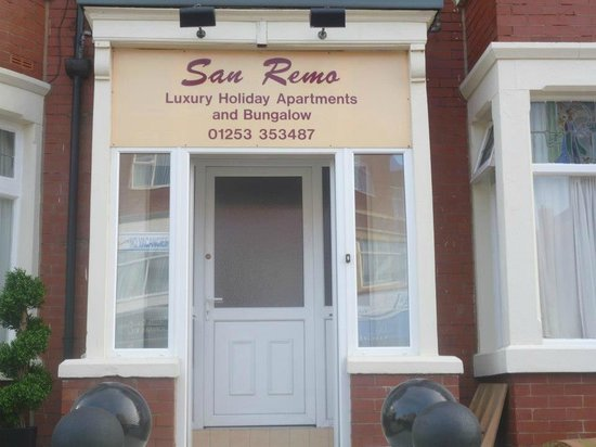 Place To Stay Picture Of San Remo Apartments Blackpool Tripadvisor