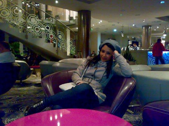 Hotel Galaxy: nella hall