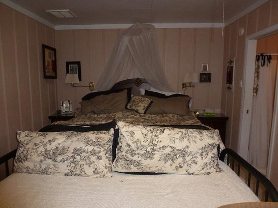 Crochet House Bed & Breakfast:                   Our room at the B&B