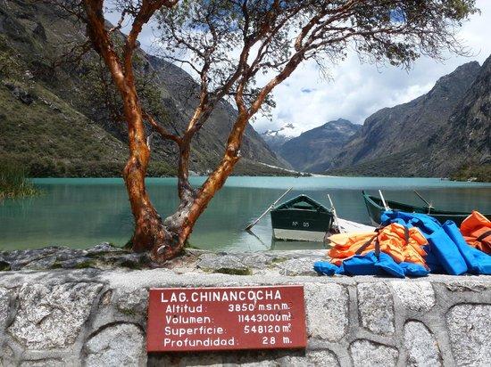 The Lazy Dog Inn:                   Nearby glacial lake
