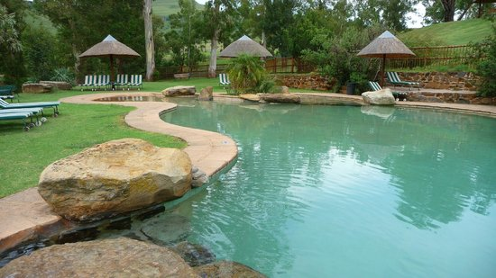 Montusi Mountain Lodge :                   Swimming pool