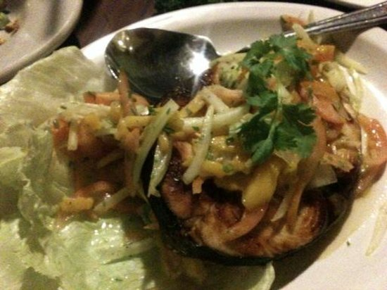 Best Western Boracay Tropics Resort: Fish with mango salsa,appetizer