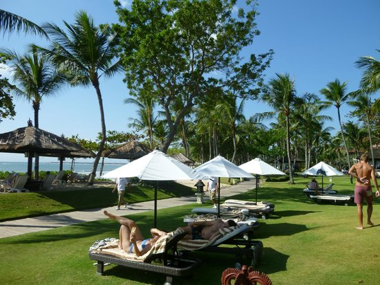 INTERCONTINENTAL Bali Resort: Plage