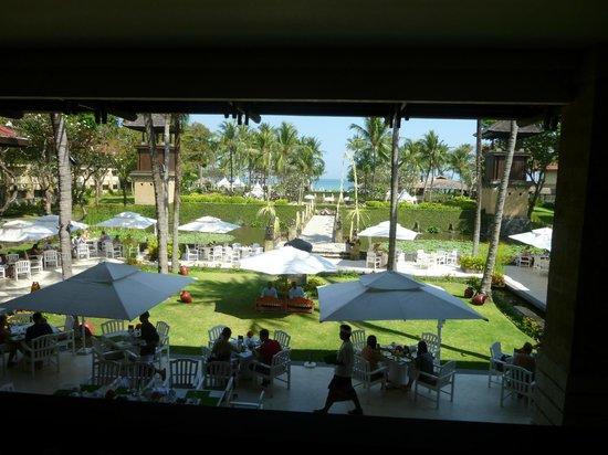 INTERCONTINENTAL Bali Resort: Vue depuis la réception