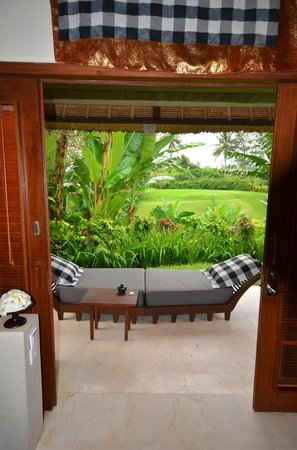 Maya Ubud Resort & Spa: Vue de l'extérieur