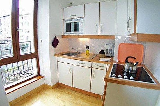 Privilodges : kitchenette