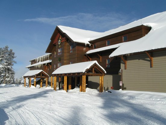 Old Faithful Snow Lodge and Cabins:                   Snow Lodge Inn