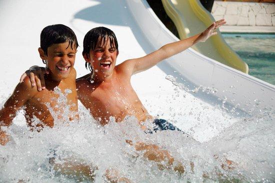 Royal Solaris Cancun: Kids at the Mini Water Park
