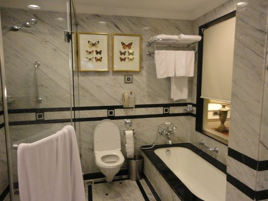 ITC Windsor, Bengaluru:                   Luxurious bathroom