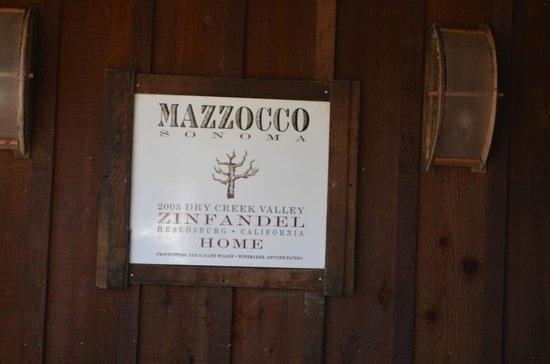 Mazzocco Sonoma : Mazzocco