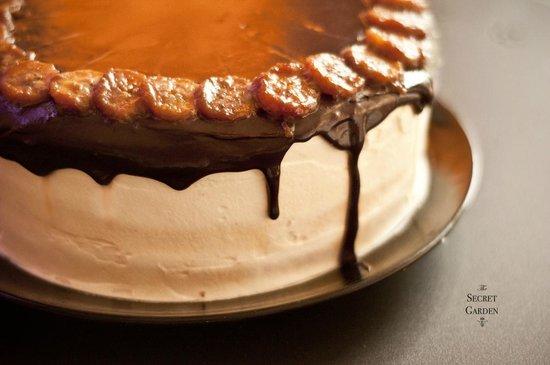 เดอะ ซีเคร็ท การ์เด้น: Chocolate Banana & Maple Gateau