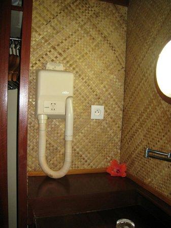 Maitai Polynesia Bora Bora: dans le cabinet de toilette