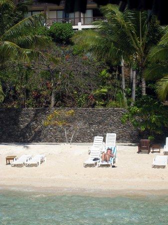 Maitai Polynesia Bora Bora: mini plage