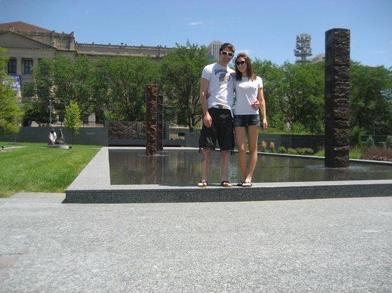 Joslyn Art Museum:                   Sculpture Gardens Joslyn