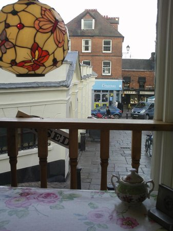 Rosey Lea: View from one of the window seats.